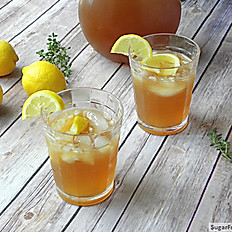 Iced Fresh Lemon Tea (12oz)