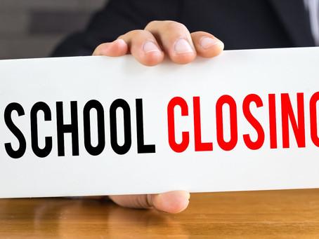 School Closing Thursday 17th Dec