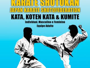 Campeonato Estadual de karate Shotokan - 29 de setembro