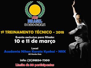 Treinamento Técnico da JKS Brasil