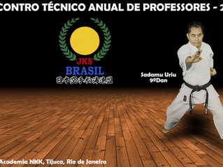 Encontro Técnico de Professores de Karate Shotokan - JKSBrasil