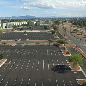 West Parking Lot Improvements