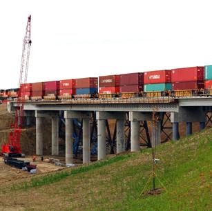 Des Lacs Railroad Bridge