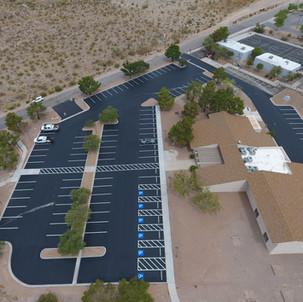 Searchlight Community Center Parking Lot Resurfacing