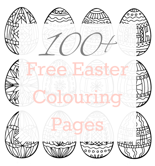 100+ Free Easter Coloring Pages at Whitehouse Crafts