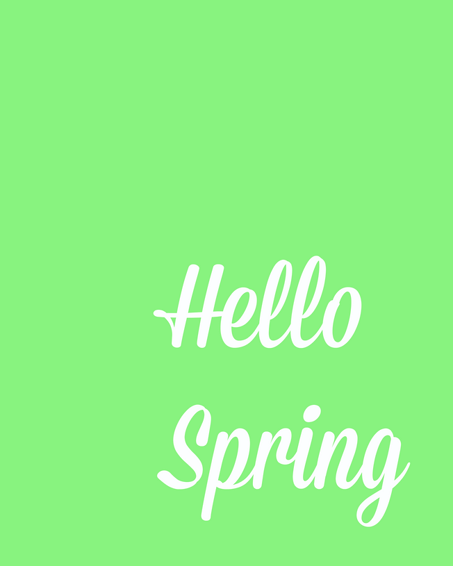 Hello Spring Printables by White House Crafts