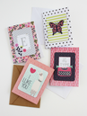 "CRAFTY & CHIC GREETING CARDS USING 12"" X 12"" PAPER PADS"