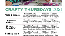 Crafty Thursdays are back for the summer holidays!