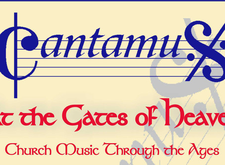 Support the Museum with Cantamus Choir