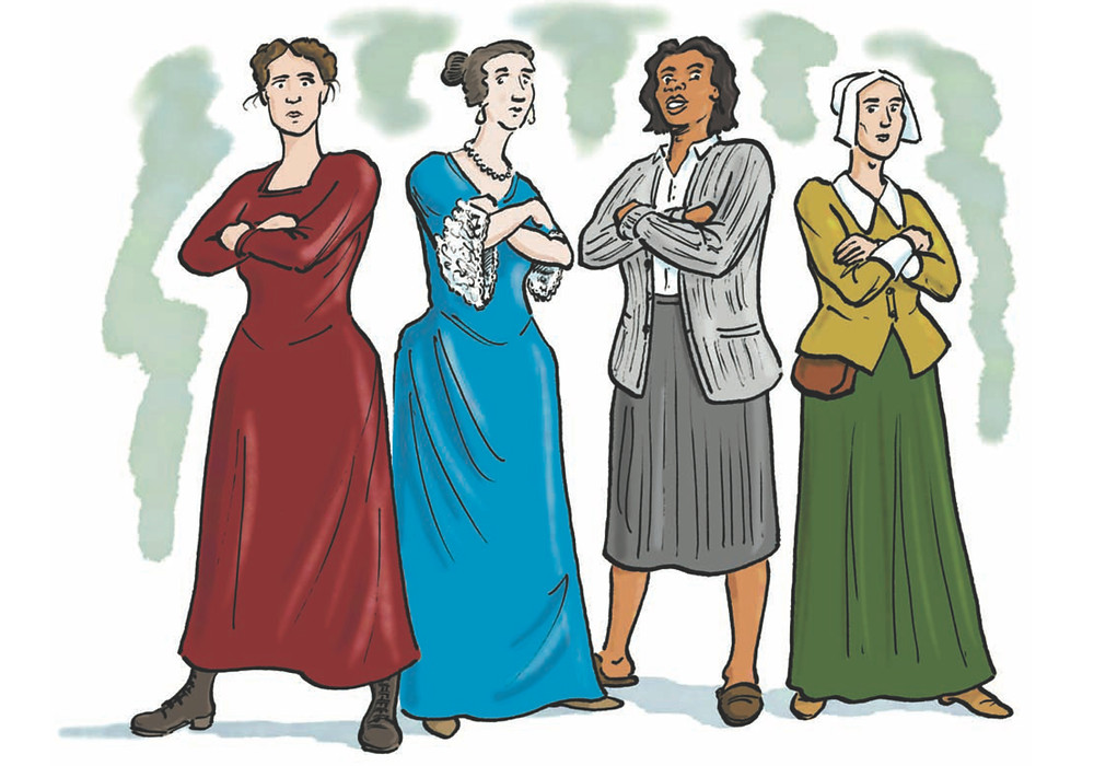 Risk Takers and History Makers - Four women of Bedford