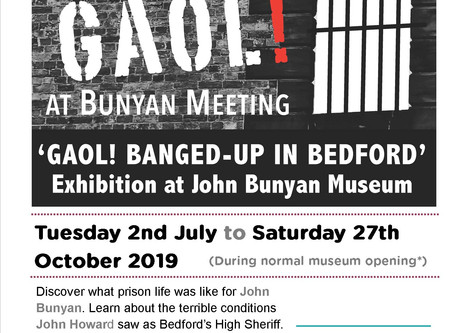 'GAOL! BANGED-UP IN BEDFORD'