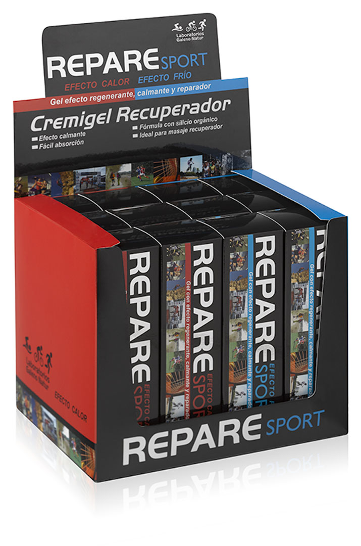 Expositor Cremigel repare sport