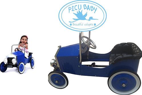 Coche Clásico de Pedales Picu Baby Azul
