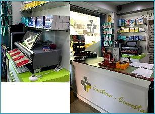 cash guard instalado en farmacia cantera
