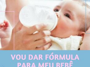 Vou dar fórmula para o meu bebê dormir melhor...