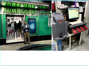 cash guard instalado en farmacia aumesqu