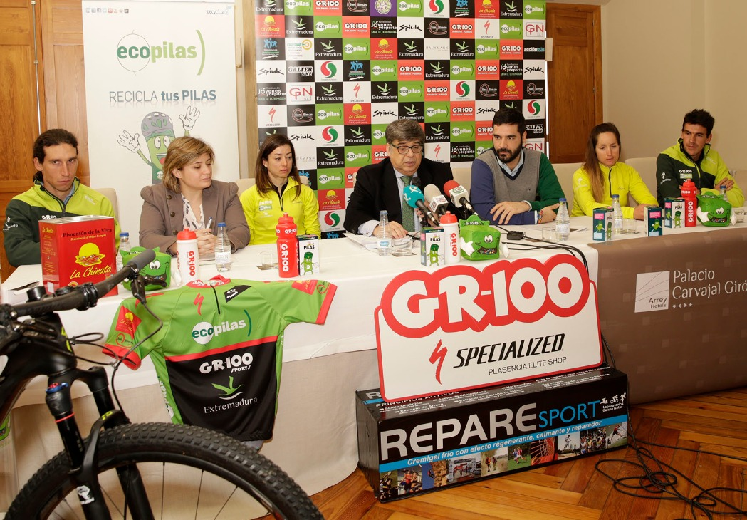 Presentación Equipo Ciclista Profesional MTB Ecopilas Repare Sport