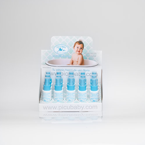 Expositor Picubaby colonia 60ml