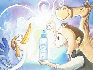 La verdadera historia de Picu la cigueña azul