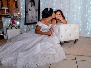 O vestido de noiva dos seus sonhos,  esta nas mãos de fada  da estilista Lúcia da Silva