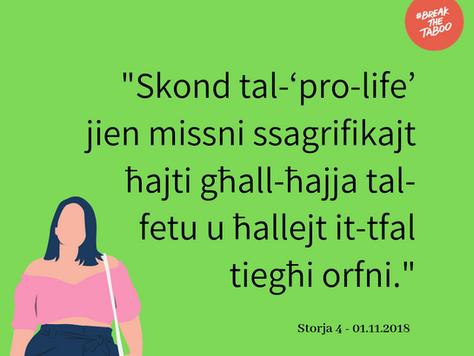 Storja 4 – 01.11.2018 ~ bil-Malti