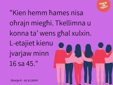 Storja 6 – 01.11.2018 ~ bil-Malti