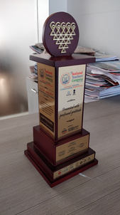 Customized Trophy For National Teachers Congress 2019 Speakers
