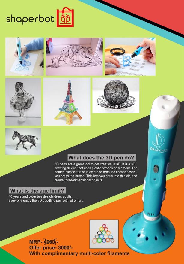 3D Doodling Pen