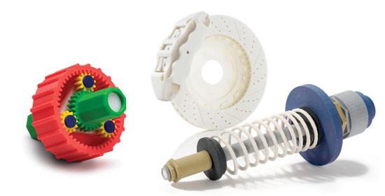 Gear and shockabsorber