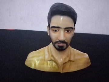 Personalized Bust size miniature