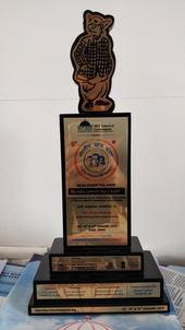 Customized Trophy For Bhartiya Chatra Sansad 2019