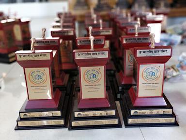 Customized Trophies For Bhartiya Chatra Sansad (BCS) 2019 Speakers