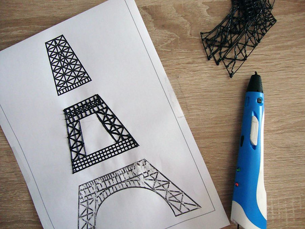 TRACING FROM STENCIL