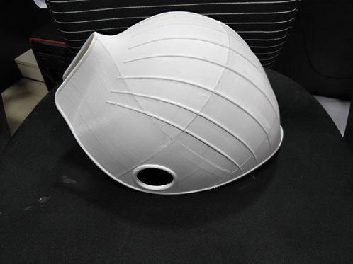 Prototype of a helmet for customer