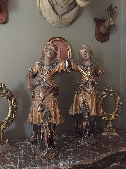 17th Century Italian Angels