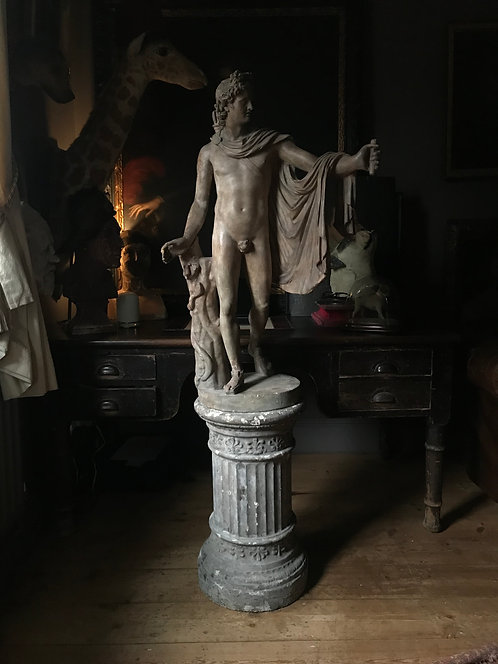 Apollo Belvedere By Domenico Brucciani (1814-80) For The V&A