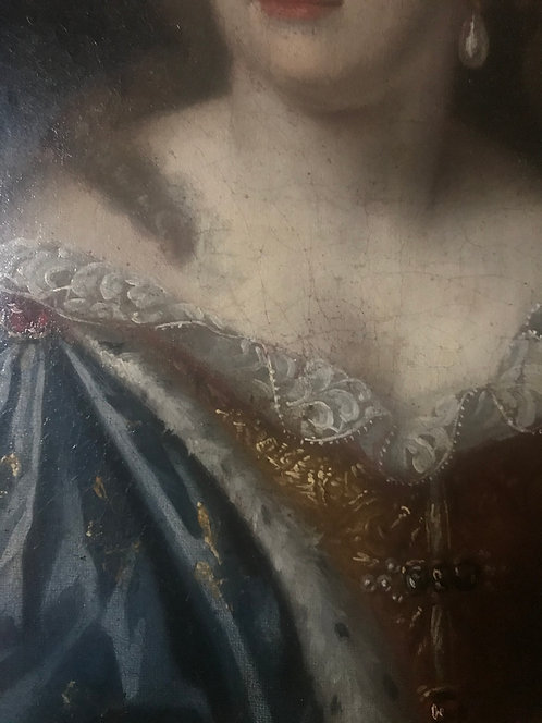 17th Century Portrait Of A Noble Lady