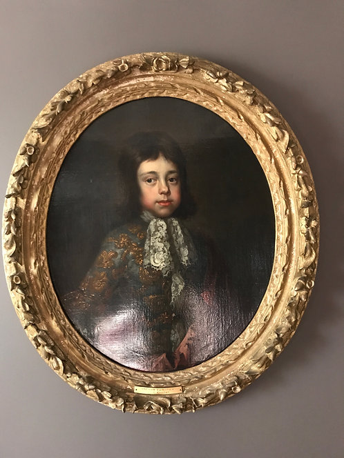 17th CenturyPortrait of Thomas Edwards att to Sir Godfrey Kneller