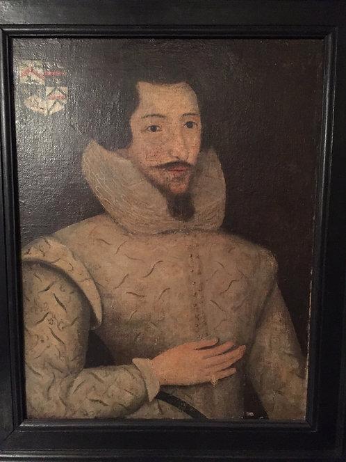 17th Century Primitive Portrait