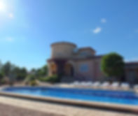 Villa Oasis with private swimming pool.j