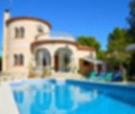 Villa Mia with large private swimming po