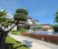 Villa Almadrava with private swimming po