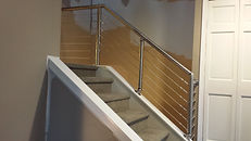 Columbus staircase wire rail
