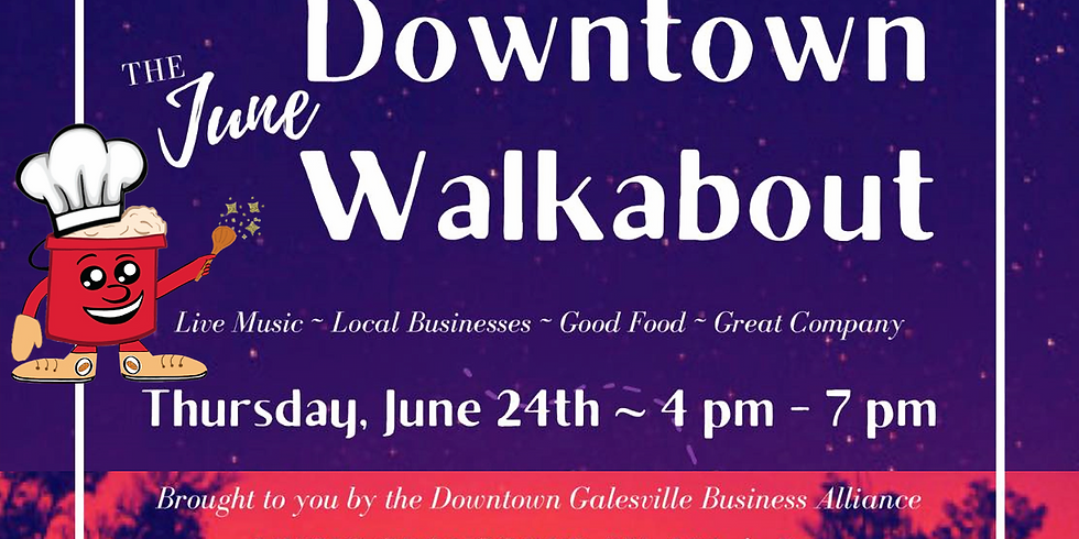 Downtown Walkabout in Galesville, Wisconsin