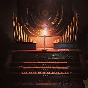 CON CHURCH ORGAN BLACK LODGE RECORDING STUDIO
