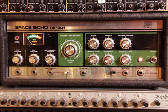 ROLAND RE-201 SPACE ECHO TONELUX OTB-16 BLACK LODGE STUDIOS