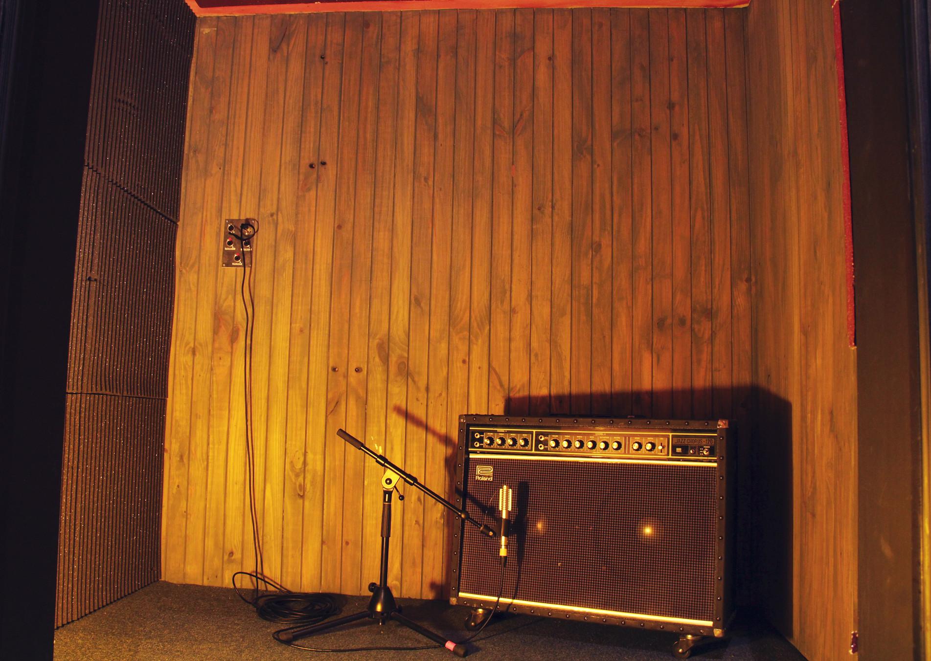 Iso booth Black Lodge recording studio East Brunswick