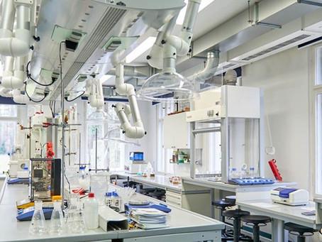 Gläsernen Labor