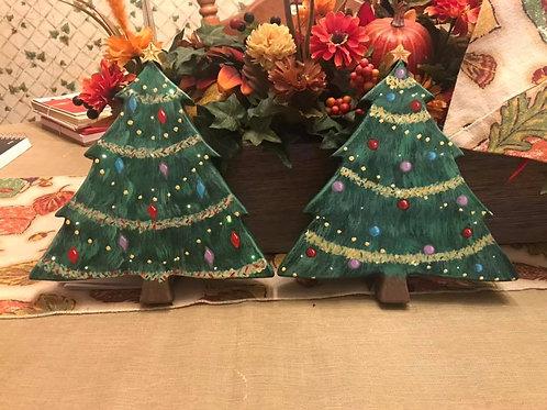 LED Christmas Tree Wall Art