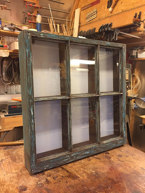 Vintage Window Display Case